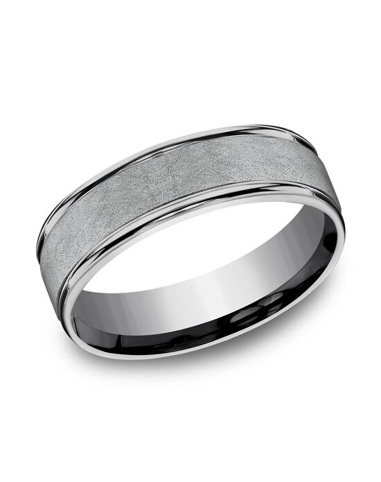 Benchmark RECF86585GTA Tantalum Wedding Ring