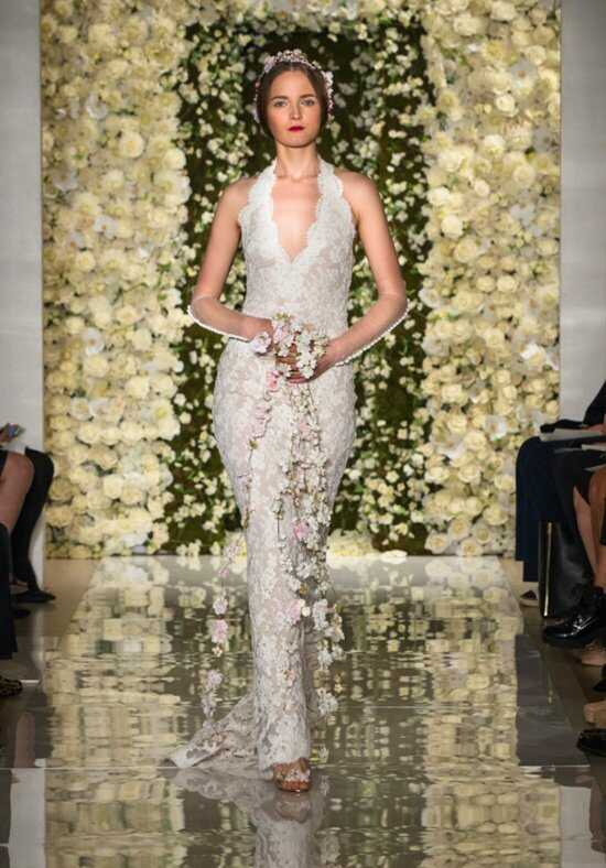 Reem Acra I'm A Bride Mermaid Wedding Dress