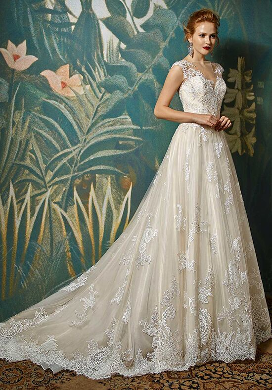 Blue by Enzoani Jadis A-Line Wedding Dress