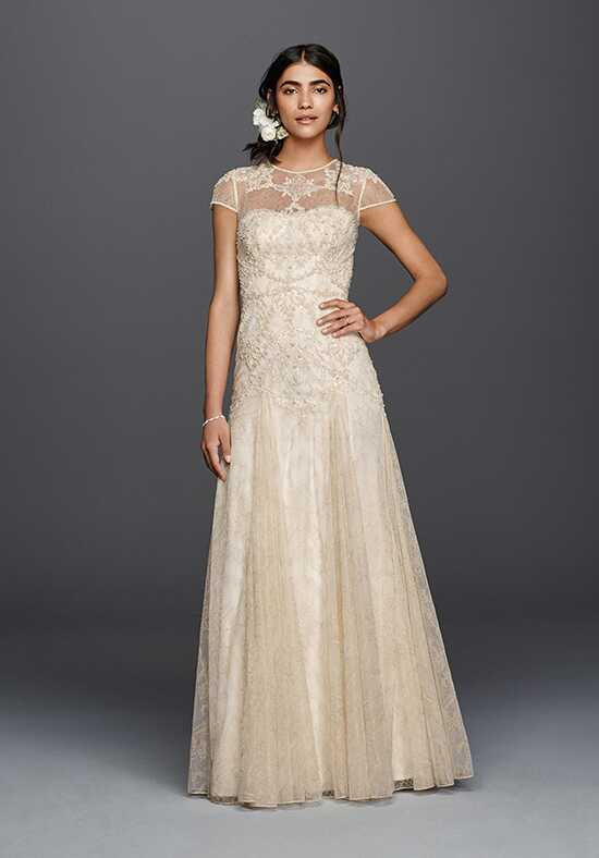 Melissa Sweet for David's Bridal Melissa Sweet Style MS251136 Sheath Wedding Dress