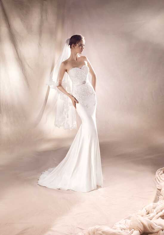 WHITE ONE SILVIA Mermaid Wedding Dress