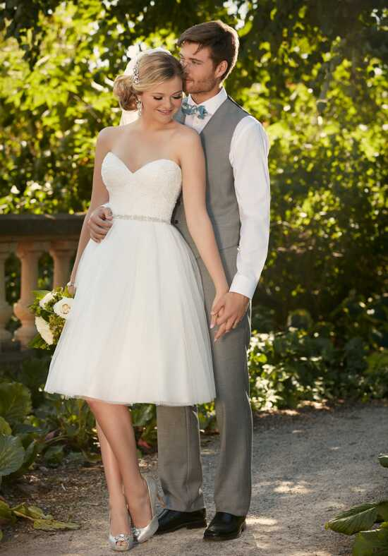 Essense of Australia D2103 A-Line Wedding Dress