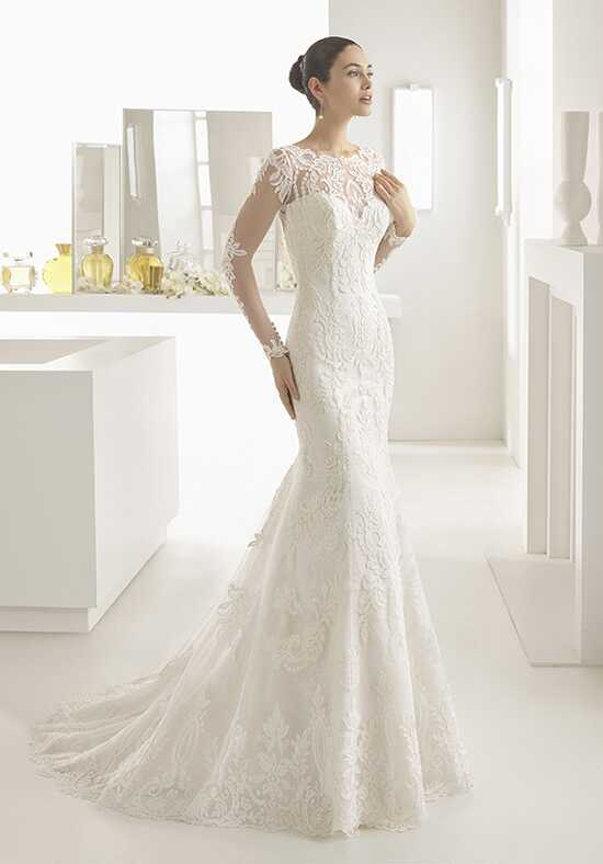 rosa clar olaf mermaid wedding dress