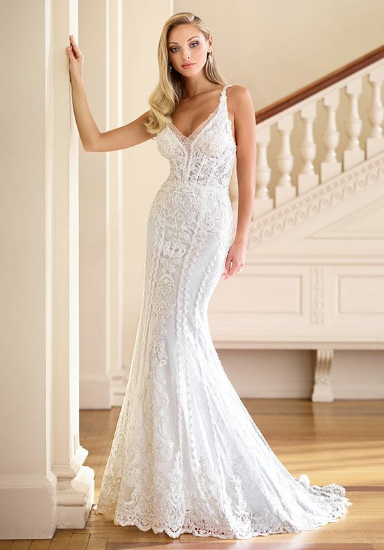 Enchanting by Mon Cheri 218175 Mermaid Wedding Dress