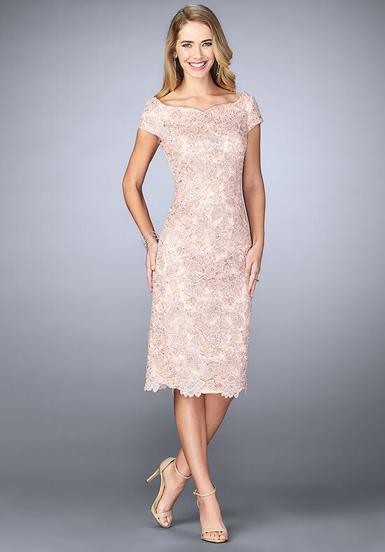 La Femme Evening 23552 Pink Mother Of The Bride Dress