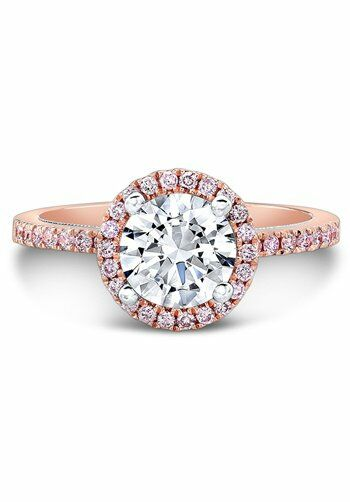 Natalie K Le Rosé Collection - NK28671PK-18WR Rose Gold Wedding Ring