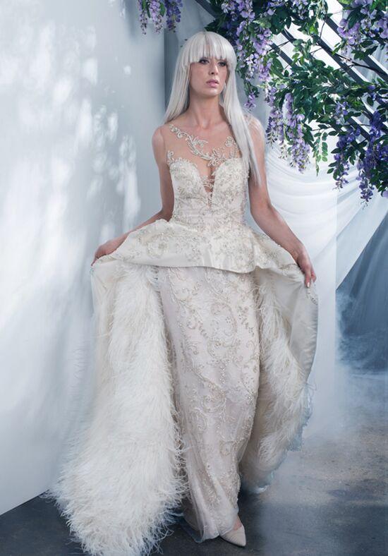 Ysa Makino KYM184 Sheath Wedding Dress