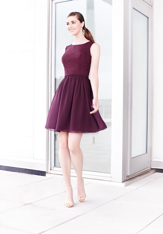 Colour by Kenneth Winston 5210S Bateau Bridesmaid Dress