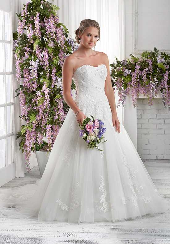 Bonny Bridal 602 A-Line Wedding Dress