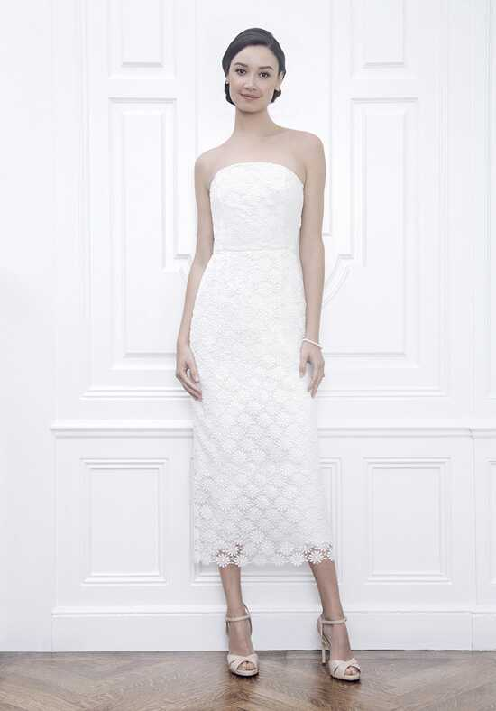 Jane Summers Liz Strapless Lace Sheath Dress Sheath Wedding Dress