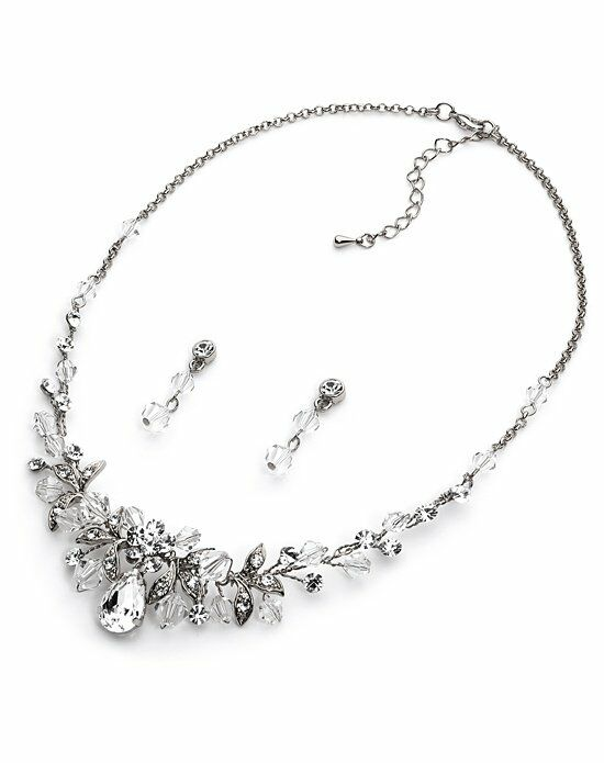 USABride Athena Swarovski Crystal Jewelry Set JS-1623 Wedding Necklace photo