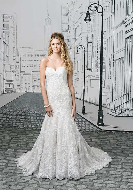 Justin Alexander 8893 A-Line Wedding Dress