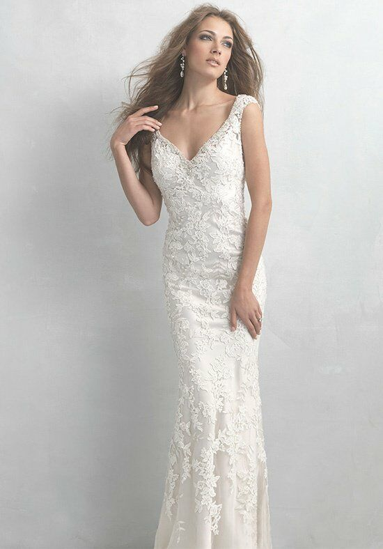 Madison James MJ12 Sheath Wedding Dress