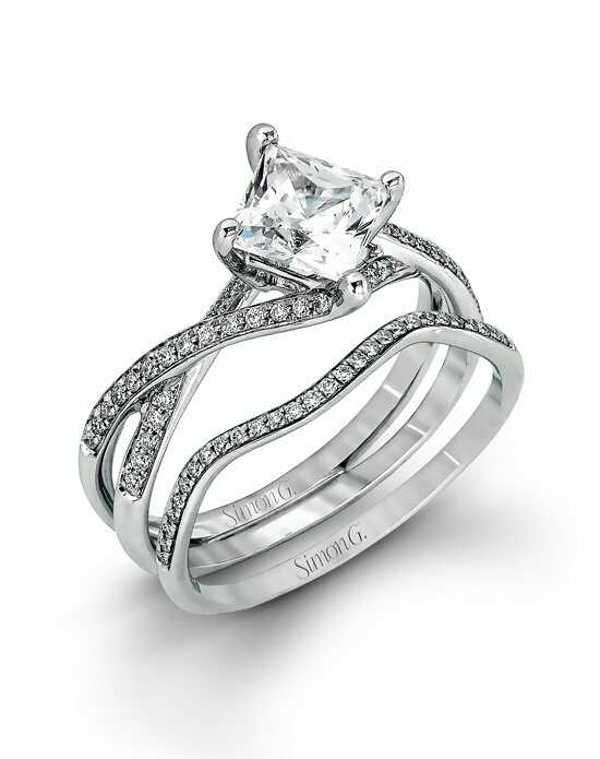 Simon G. Jewelry MR1395 Engagement Ring photo