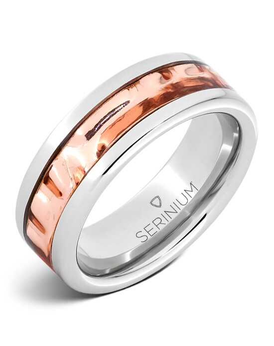 Serinium® Collection Copper River — Royal Copper™ Serinium® Inlay Ring-RMSA005946 Serinium® Wedding Ring