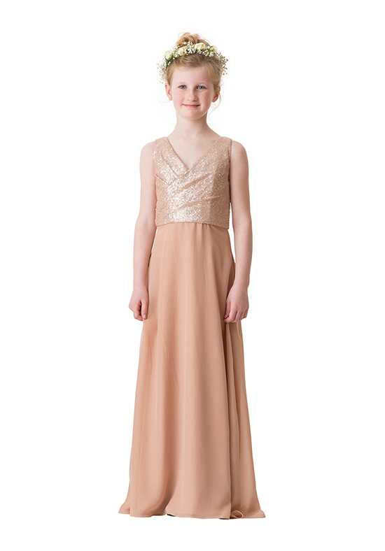 Bari Jay Bridesmaids 1680-JR V-Neck Bridesmaid Dress
