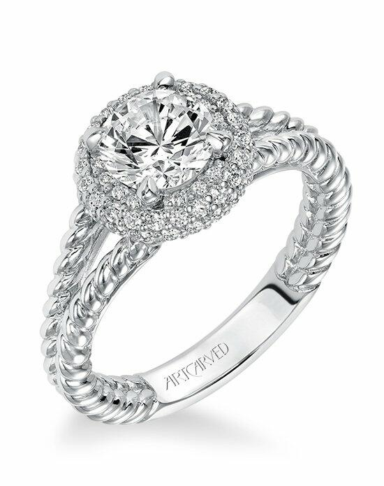 ArtCarved 31-V570ERW Engagement Ring photo