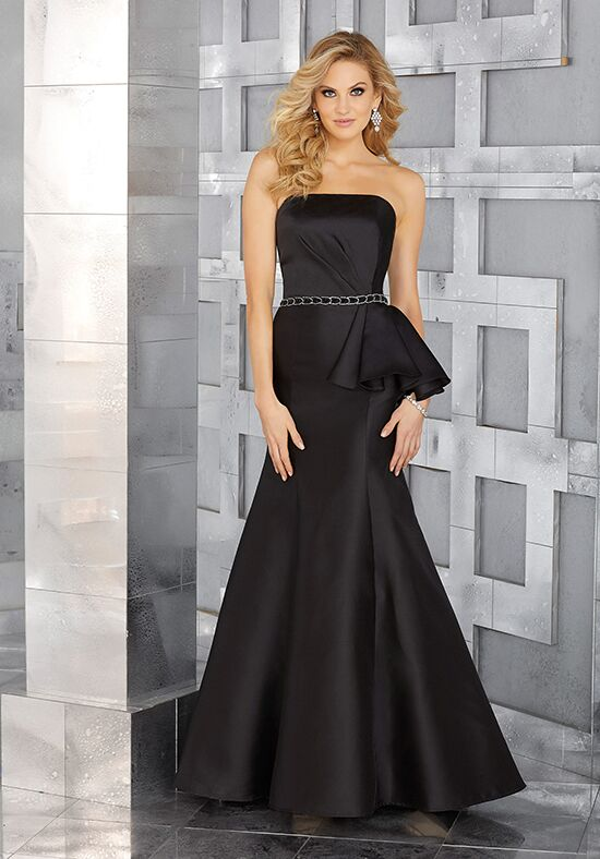MGNY 71608 Black Mother Of The Bride Dress