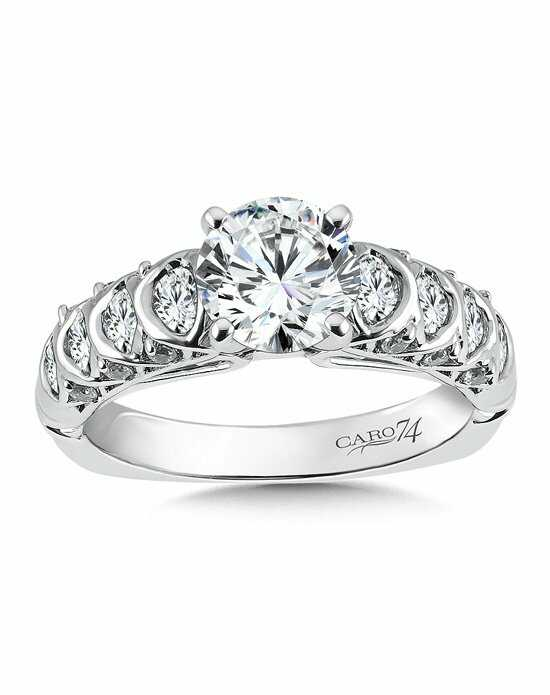Caro 74 Round Cut Engagement Ring
