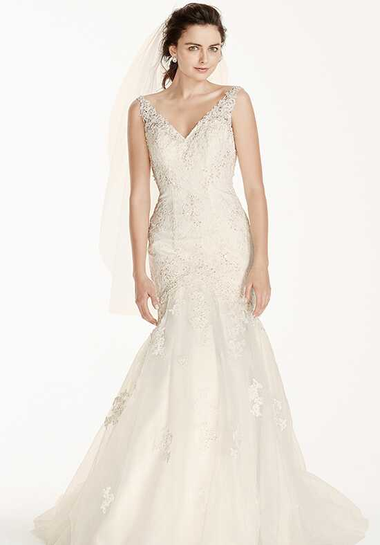 David's Bridal Galina Signature Style V3761 Mermaid Wedding Dress
