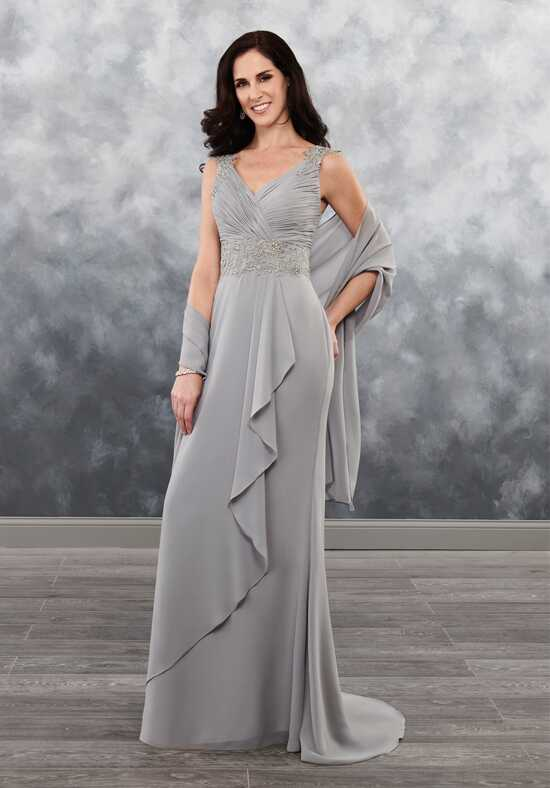 Beautiful Mothers by Mary's MB8030 Black Mother Of The Bride Dress