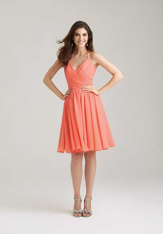 Allure Bridesmaids 1466 V-Neck Bridesmaid Dress