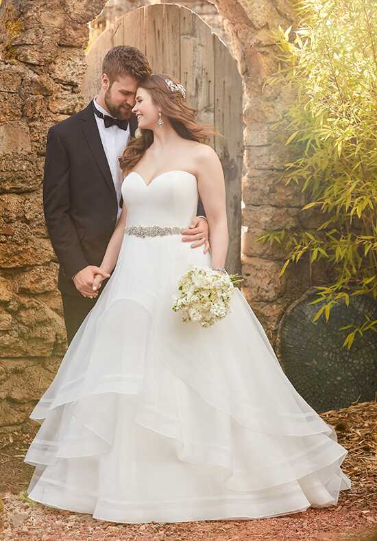 Essense of Australia D2086 Ball Gown Wedding Dress