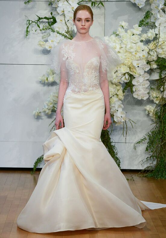 Monique Lhuillier Jaime Mermaid Wedding Dress