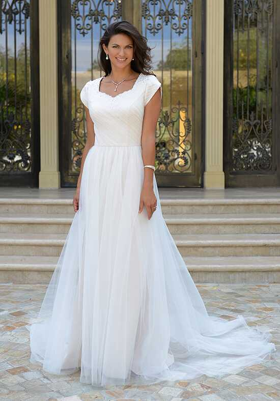 Venus Modest TB7740 A-Line Wedding Dress