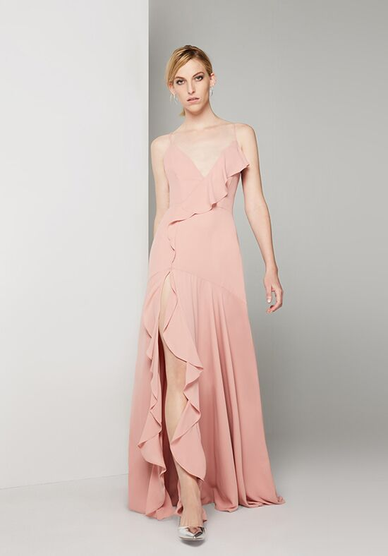 Fame and Partners Bridesmaid Callais V-Neck Bridesmaid Dress