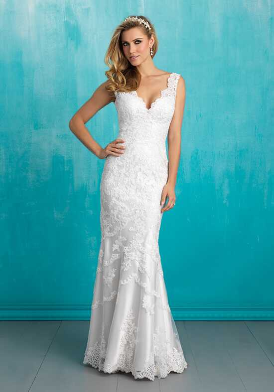 Allure Bridals 9304 Sheath Wedding Dress