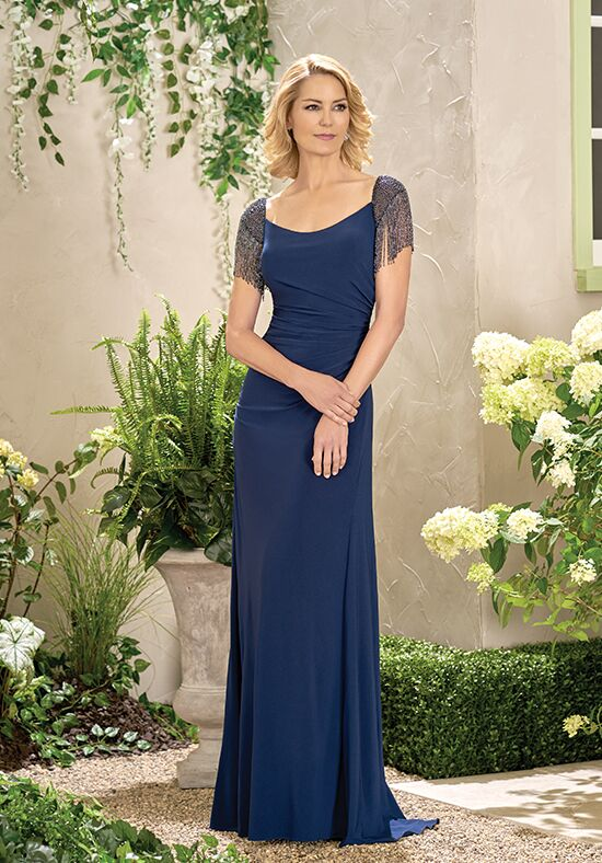 Jade J195007 Blue Mother Of The Bride Dress