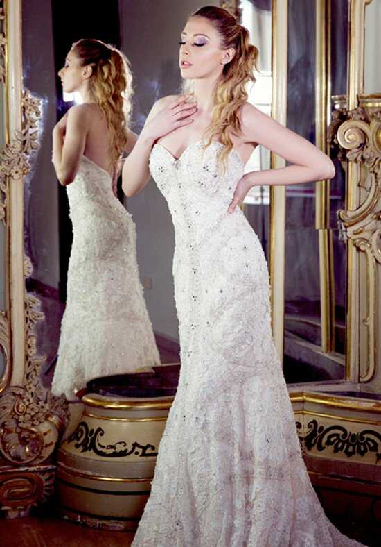 Ysa Makino KYM50 Sheath Wedding Dress