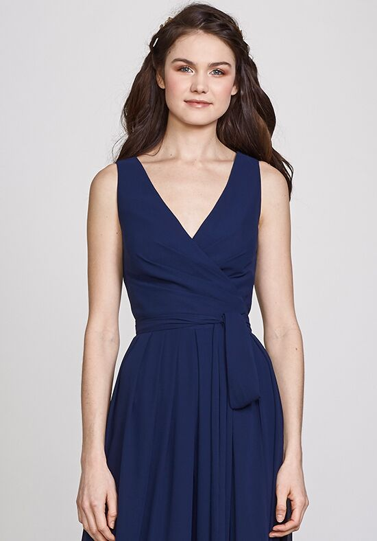 THEIA Bridesmaids Denise V-Neck Bridesmaid Dress