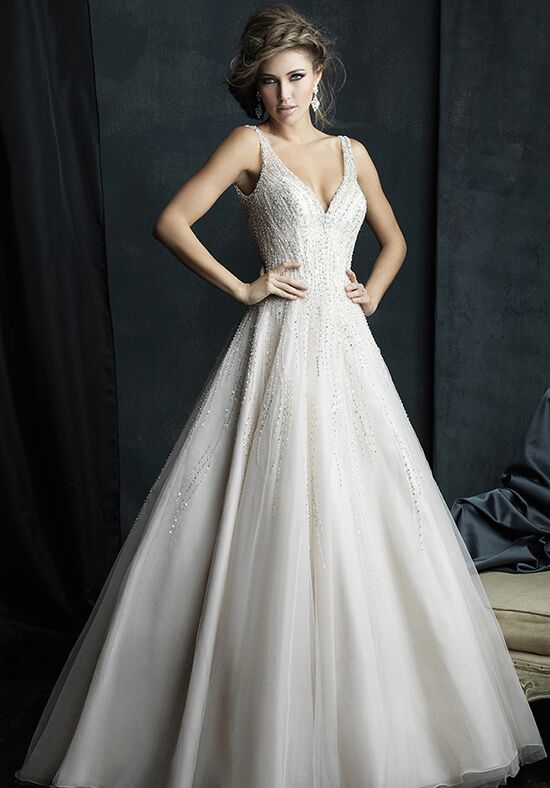 Allure Couture C382 Ball Gown Wedding Dress