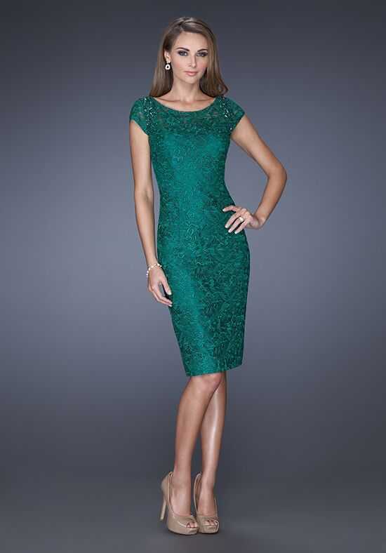 La Femme Evening 19243 Green Mother Of The Bride Dress