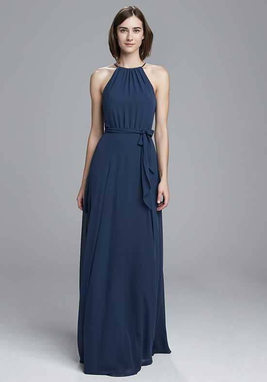 Amsale Bridesmaids Delaney Halter Bridesmaid Dress