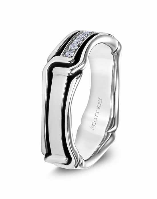 Scott Kay G4084RBV6 Platinum Wedding Ring