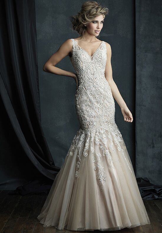 Allure Couture C388 Mermaid Wedding Dress