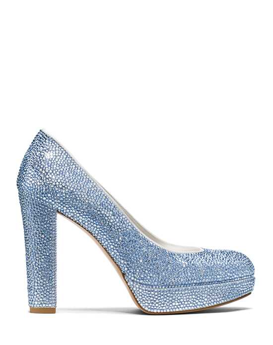 Stuart Weitzman Strongswoon Pump Light Sapphire Pave Crystals