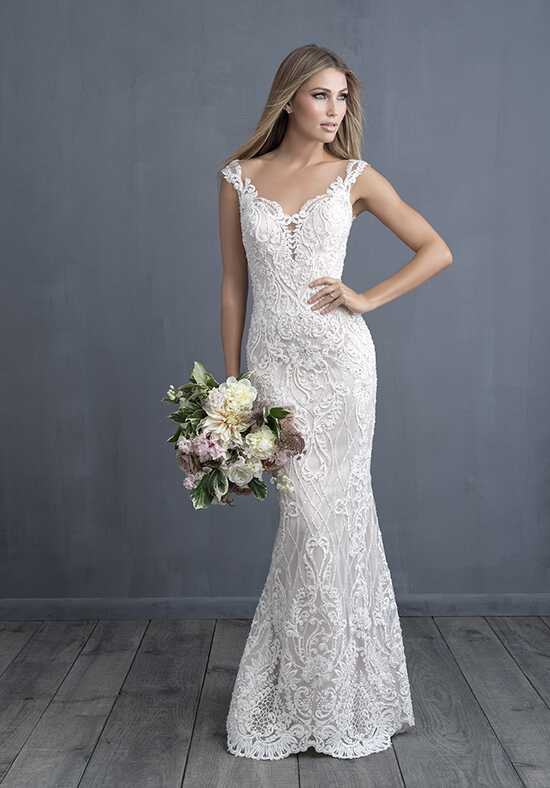 Allure Couture C489 Sheath Wedding Dress