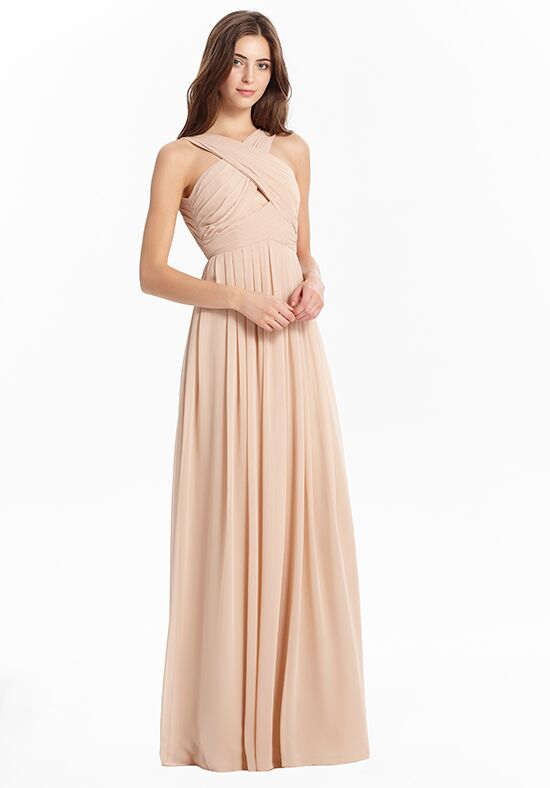Monique Lhuillier Bridesmaids 450437 Halter Bridesmaid Dress