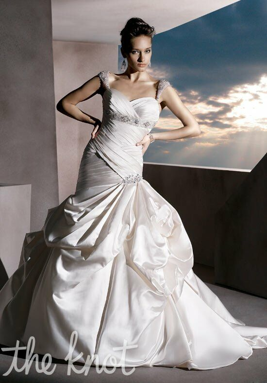 Demetrios 4294 Mermaid Wedding Dress