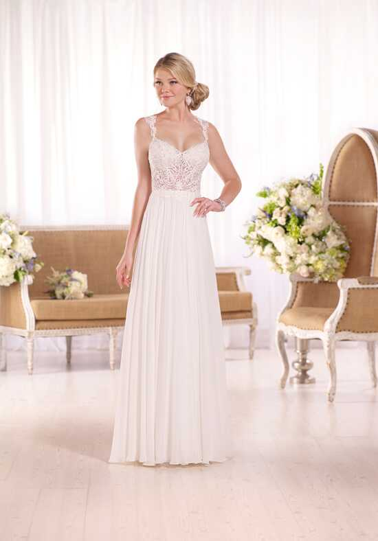 Essense of Australia D2044 Sheath Wedding Dress