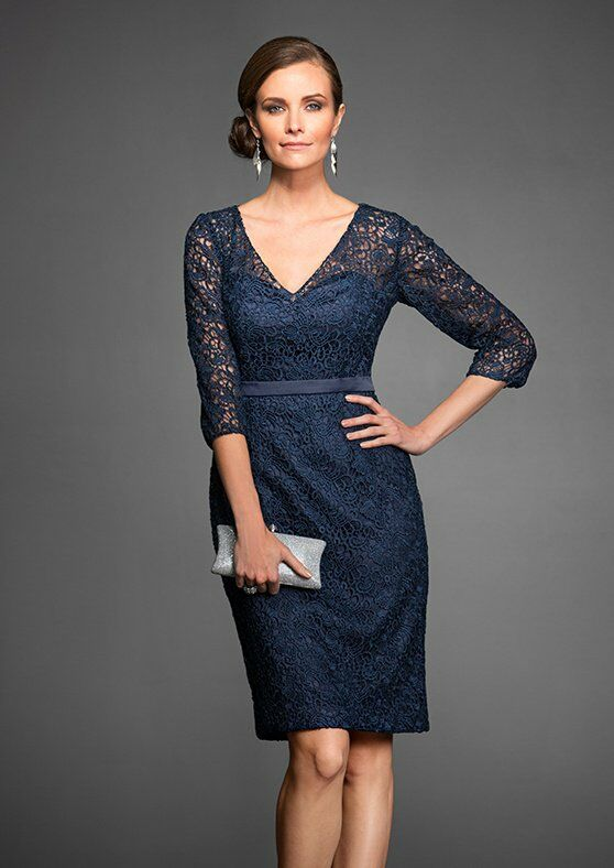 Jasmine Black Label M160065 Blue Mother Of The Bride Dress