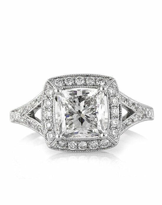 Mark Broumand 5.37ct Emerald Cut Diamond Engagement Ring ...