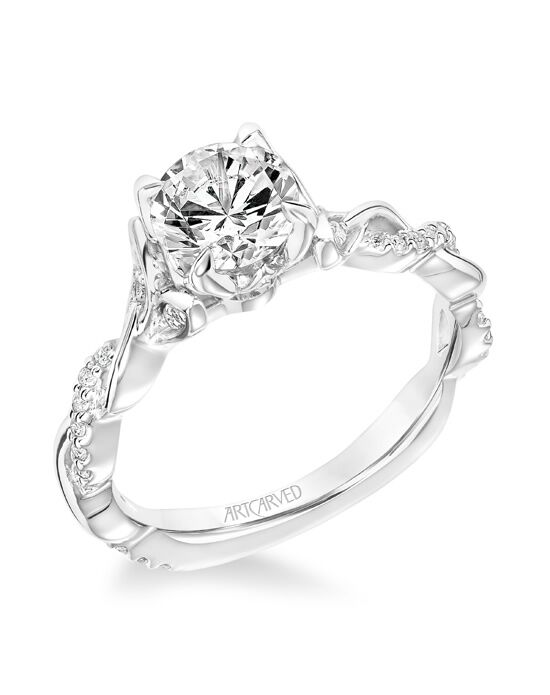 ArtCarved Cut Engagement Ring