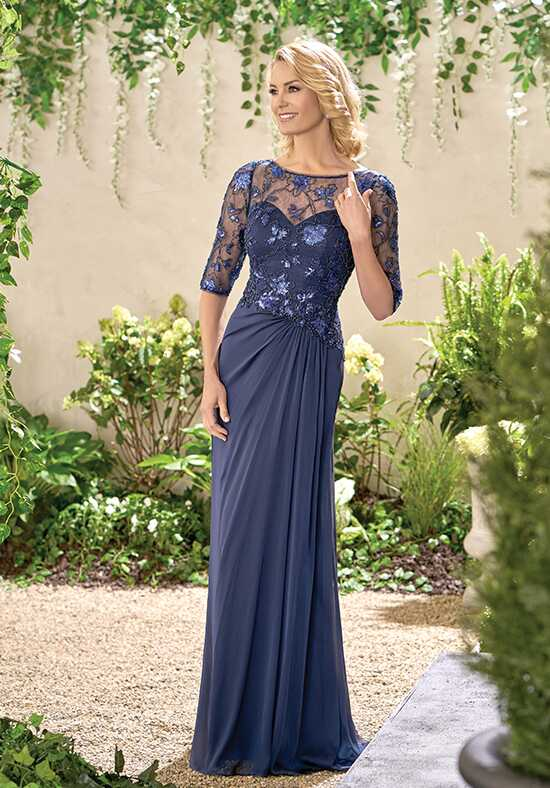 Jade J195016 Blue Mother Of The Bride Dress