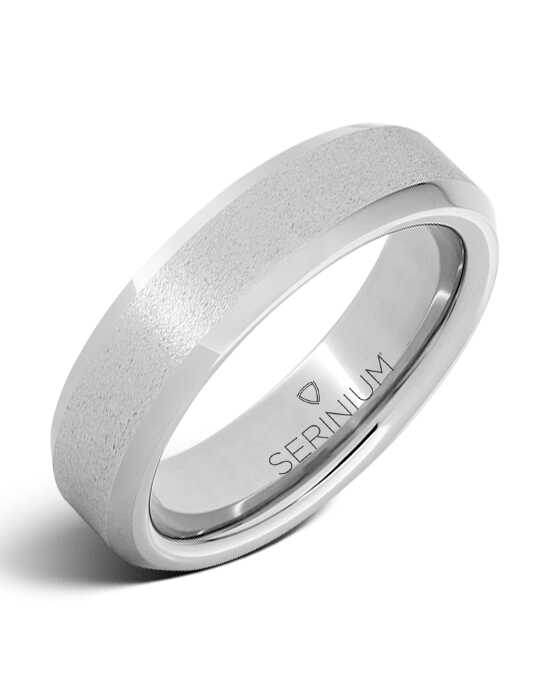 Serinium® Collection Rugged Stone — Slim Serinium® Ring-RMSA001804 Serinium® Wedding Ring