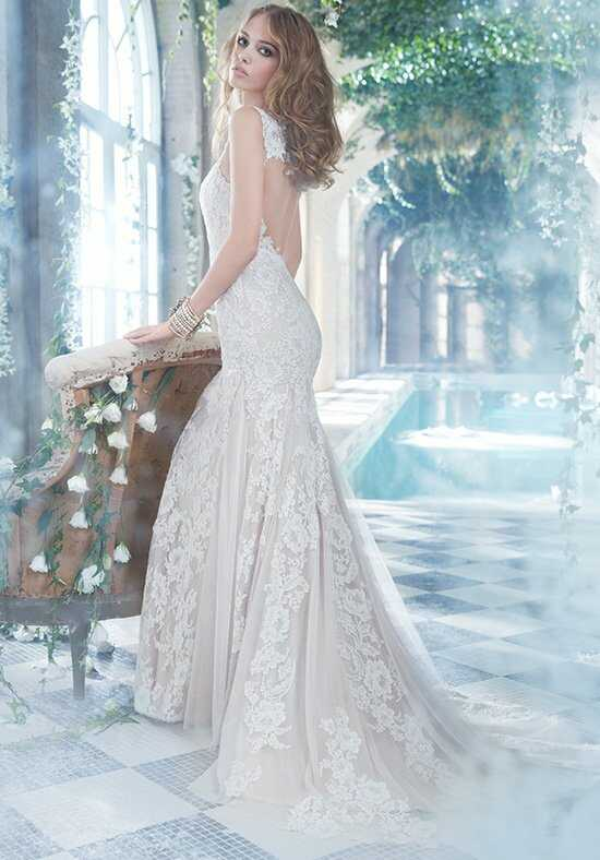 Alvina Valenta 9407 Sheath Wedding Dress